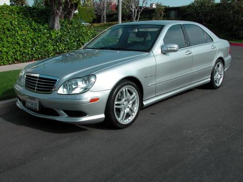 2006 Mercedes-Benz S55 5.5L AMG in , California