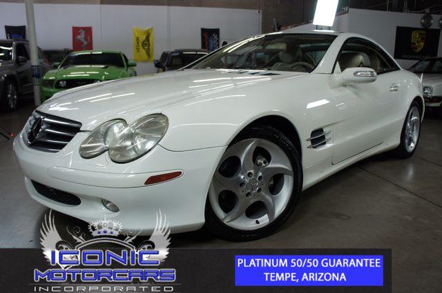 2006 Mercedes-Benz SL500 5.0L   Tempe, AZ   ICONIC MOTORCARS, Inc. in Tempe AZ