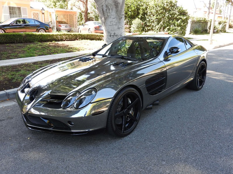 2006 Mercedes-Benz SLR McLaren Black Chrome Wrap, Mint Condition! in , California