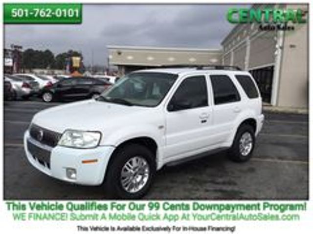 2006 Mercury MARINER/PW    Hot Springs, AR   Central Auto Sales in Hot Springs AR