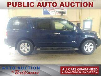 2006 Nissan Armada SE   JOPPA, MD   Auto Auction of Baltimore  in Joppa MD