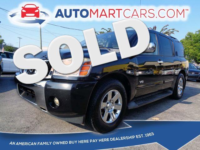 2006 Nissan Armada LE   Nashville, Tennessee   Auto Mart Used Cars Inc. in Nashville Tennessee