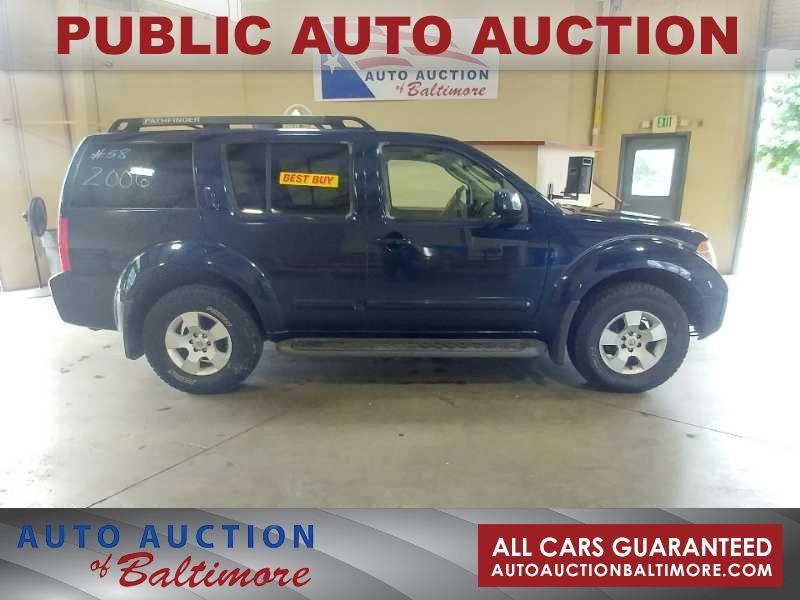 2006 Nissan Pathfinder SE | JOPPA, MD | Auto Auction Of Baltimore