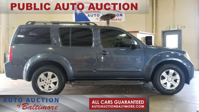 2006 Nissan Pathfinder LE   JOPPA, MD   Auto Auction of Baltimore  in JOPPA MD