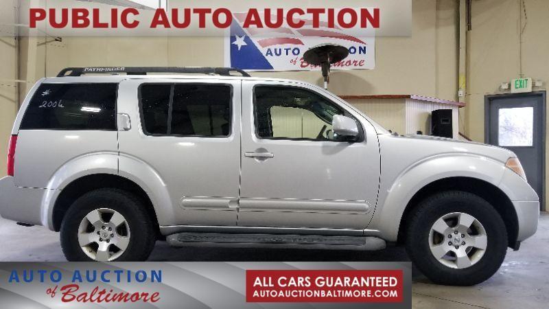 2006 Nissan Pathfinder SE   JOPPA, MD   Auto Auction of Baltimore   Joppa  MD 21085