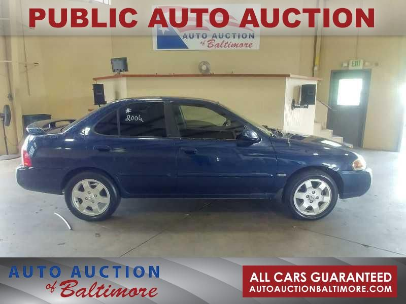 2006 Nissan Sentra 1.8 S   JOPPA, MD   Auto Auction of Baltimore  in JOPPA MD