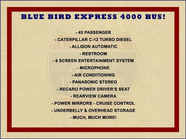 2006 Other BLUE BIRD EXPRESS 4000 BUS 45 Passenger Mooresville , NC 1