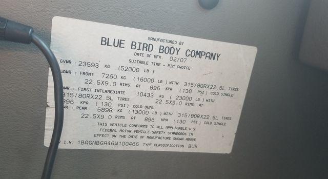 2006 Other BLUE BIRD EXPRESS 4000 BUS 45 Passenger Mooresville , NC 57