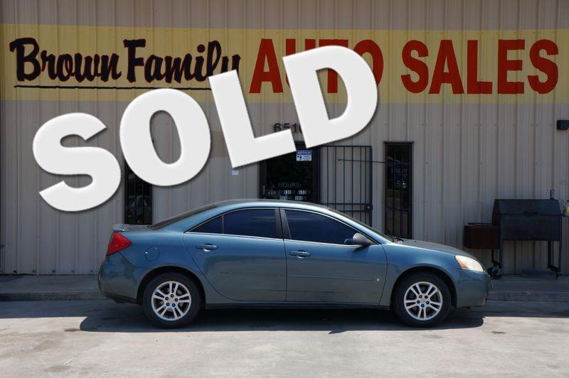 2006 Pontiac G6 6-Cyl   Houston, TX   Brown Family Auto Sales in Houston TX
