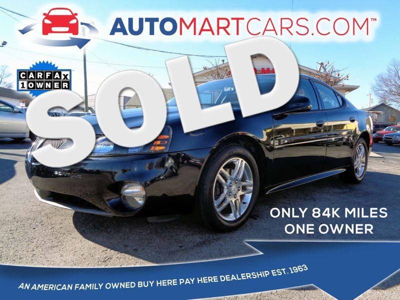 2006 Pontiac Grand Prix GT | Nashville, Tennessee | Auto Mart Used Cars Inc. in Nashville Tennessee