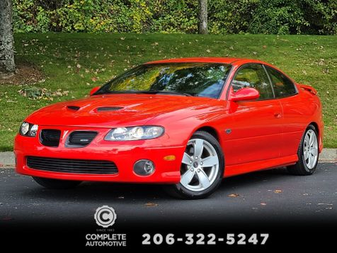 2006 Pontiac GTO 6.0L V8 400HP 6-Speed Manual  65,000 Original Miles Local History All Stock Mint in Seattle