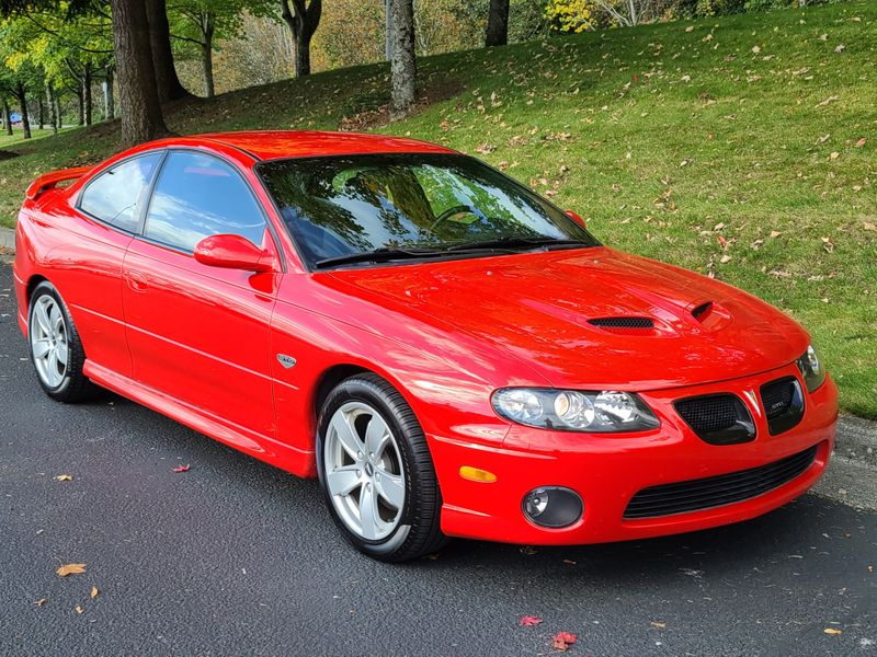 2006 Pontiac GTO 60L V8 400HP 6-Speed Manual  65000 Original Miles Local History All Stock Mint  city Washington  Complete Automotive  in Seattle, Washington