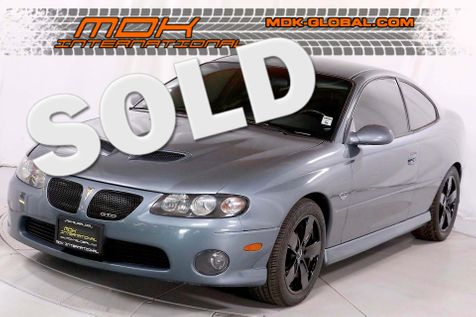 2006 Pontiac GTO - 6.0 LS2 - 6 speed manual in Los Angeles