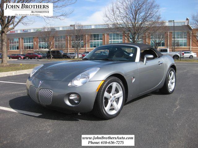 2006 Sold Pontiac Solstice Conshohocken, Pennsylvania