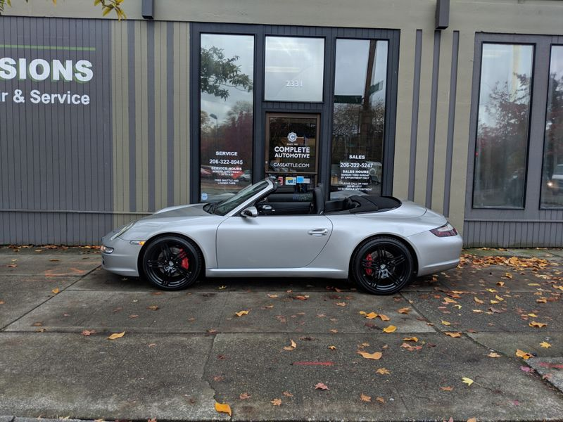 2006 Porsche 911 997 Carrera S Convertible Very Nice Tiptronic Navigation Upgraded Stereo CD Xenons 19 Alloys  city Washington  Complete Automotive  in Seattle, Washington