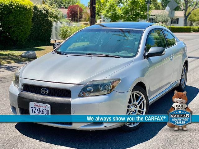 2006 Scion TC HATCHBACK AUTOMATIC SERVICE RECORDS SALVAGE TITLE in Van Nuys, CA 91406
