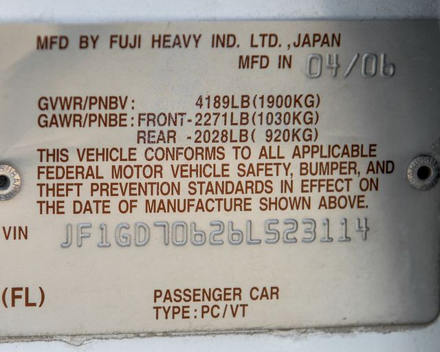 2006 Subaru Impreza WRX STi Burbank, CA 25