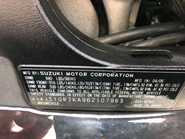2006 Suzuki GSX-R750 in Dania Beach , Florida 33004