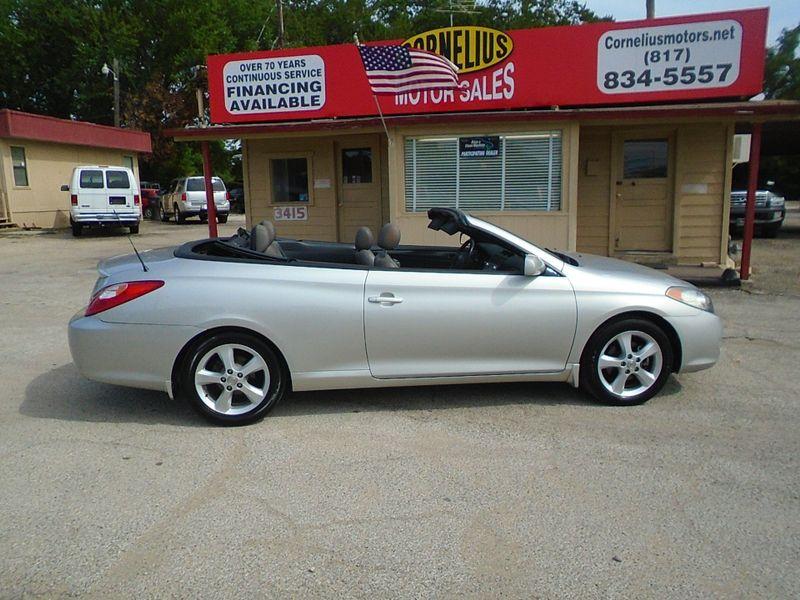 Fort Worth Toyota >> 2006 Toyota Camry Solara Se V6 Fort Worth Tx Cornelius Motor Sales Fort Worth Tx 76111