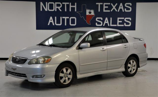 2006 Toyota Corolla S 1 Owner in Dallas, TX 75247