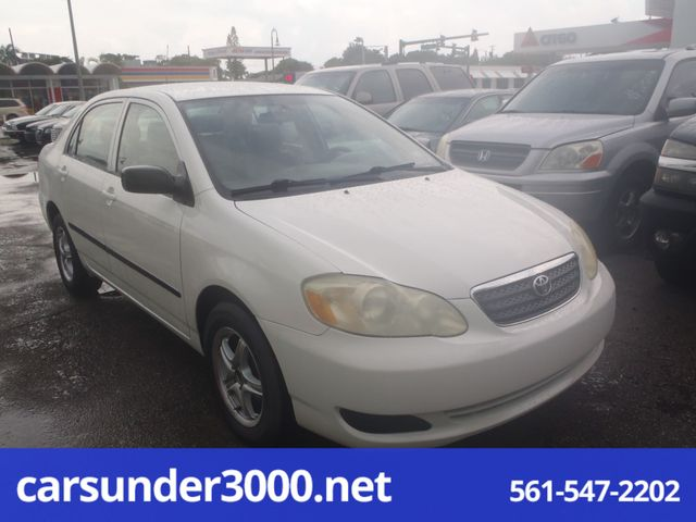 2006 Toyota Corolla CE Lake Worth , Florida 2