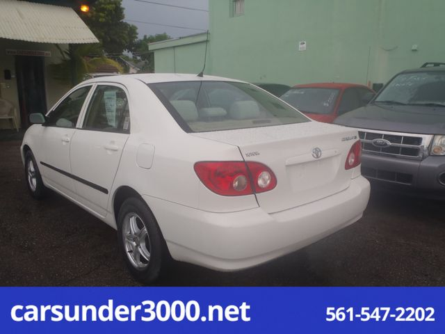 2006 Toyota Corolla CE Lake Worth , Florida 3