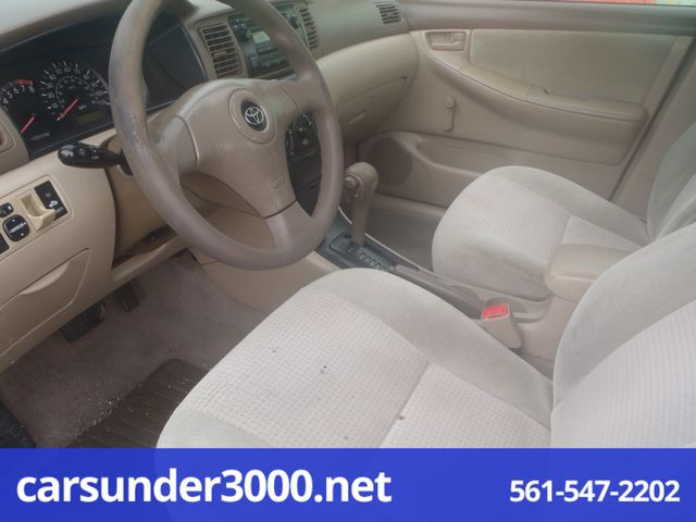 2006 Toyota Corolla CE Lake Worth , Florida 4