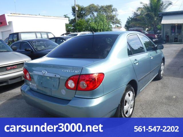 2006 Toyota Corolla CE Lake Worth , Florida 2