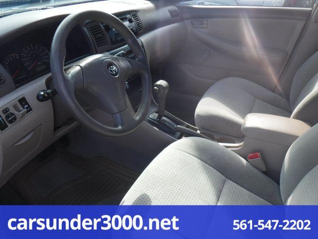 2006 Toyota Corolla CE Lake Worth , Florida 4