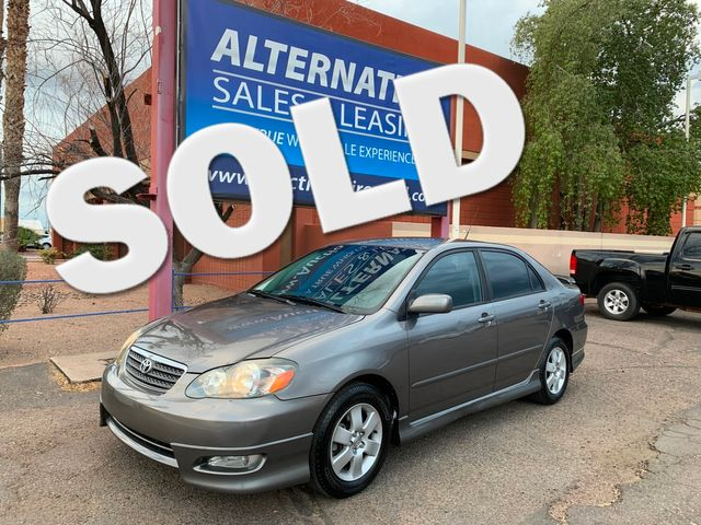 2006 Toyota Corolla S 3 MONTH/3,000 MILE NATIONAL POWERTRAIN WARRANTY Mesa, Arizona