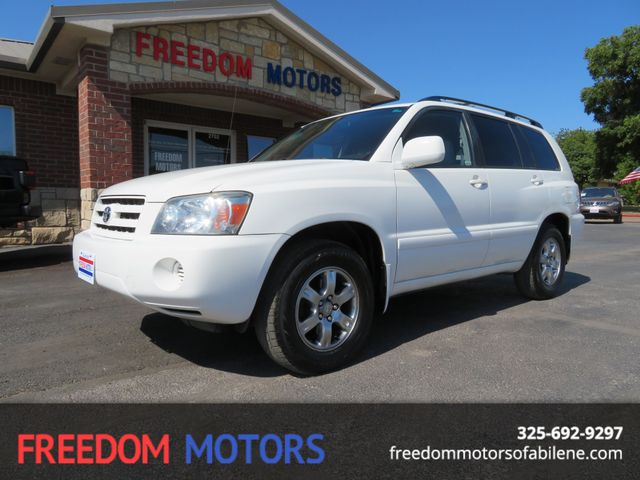 2006 Toyota Highlander w/3rd Row | Abilene, Texas | Freedom Motors  in Abilene,Tx Texas