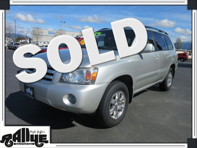 2006 Toyota Highlander AWD in Burlington, WA 98233