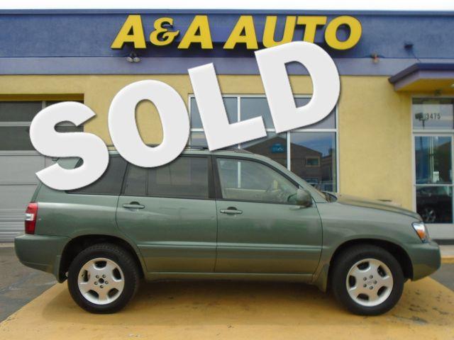 2006 Toyota Highlander Limited w/3rd Row