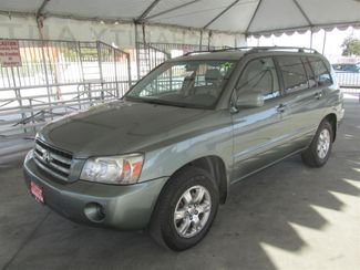 2006 Toyota Highlander w/3rd Row Gardena, California