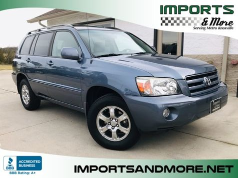 2006 Toyota Highlander V6 4WD in Lenoir City, TN