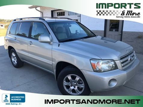 2006 Toyota Highlander Limited V6 3rd Row in Lenoir City, TN