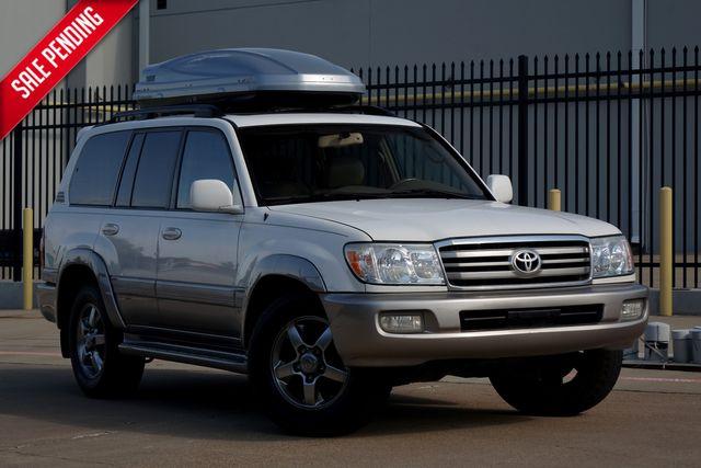 2006 Toyota Land Cruiser 4x4* Leather* 3rd Row* Ez Finance** | Plano, TX | Carrick's Autos in Plano TX
