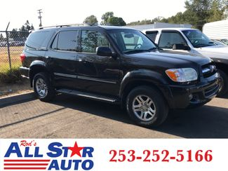 2006 Toyota Sequoia Limited 4WD in Puyallup Washington, 98371