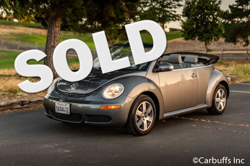 2006 Volkswagen New Beetle  | Concord, CA | Carbuffs