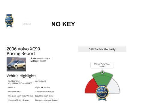 2006 Volvo XC90 4.4L V8 in Salt Lake City, UT
