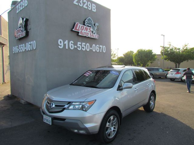 2007 Acura MDX Tech Pkg AWD in Sacramento, CA 95825