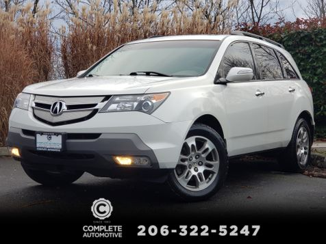 2007 Acura MDX TECH AWD 1 Owner Full History 3rd Seat Rear Camera   in Seattle