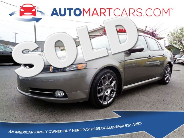 2007 Acura TL Type-S | Nashville, Tennessee | Auto Mart Used Cars Inc. in Nashville Tennessee