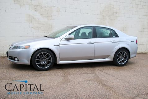 2007 Acura TL Type-S Luxury Sports Car with Navigation, Backup Camera, Heated Seats, 17-Inch 10-Spoke Rims in Eau Claire
