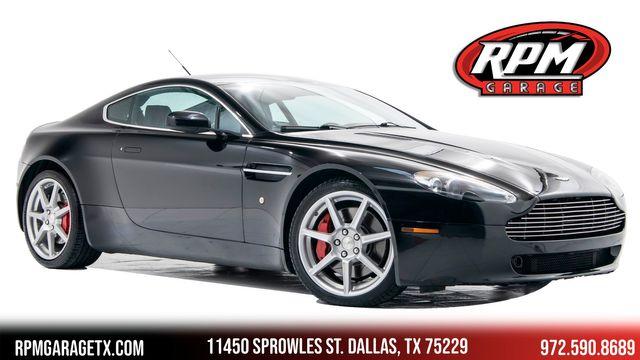 2007 Aston Martin Vantage 6speed Manual in Dallas, TX 75229