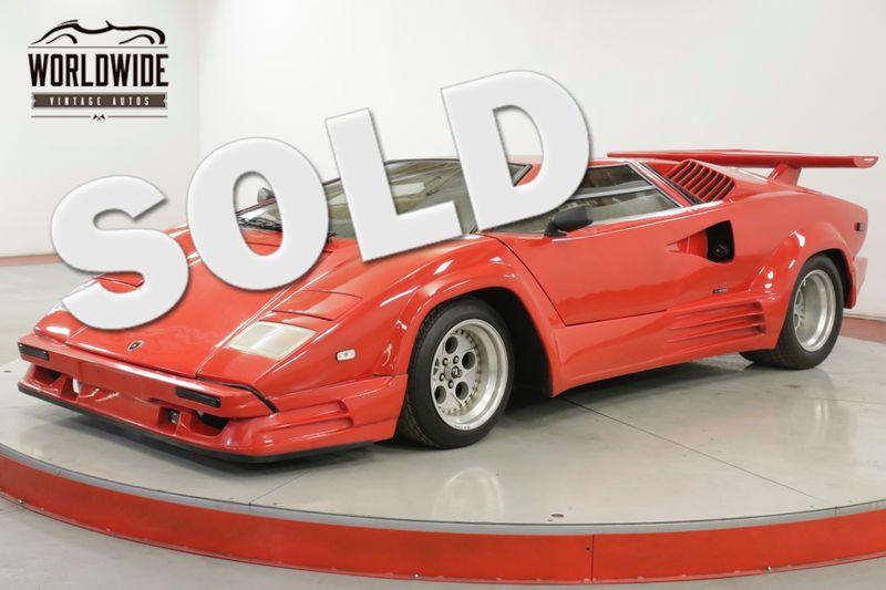 1989 Lamborghini COUNTACH REPLICA 25TH ANNIVERSARY. PROFESSIONAL BUILD AC! DISC   Denver, CO   Worldwide Vintage Autos