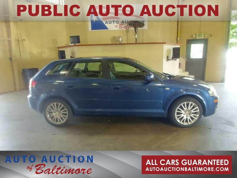 2007 Audi A3  | JOPPA, MD | Auto Auction of Baltimore  in JOPPA MD