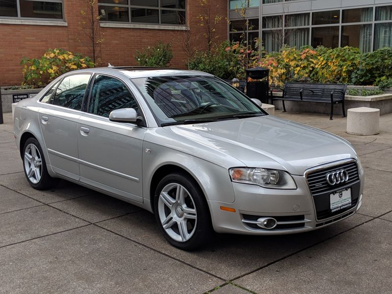 2007 Audi A4 20T Quattro All Wheel Drive 2 Owner History Premium Package Heated Seats Moonroof   city Washington  Complete Automotive  in Seattle, Washington