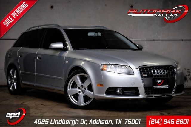 2007 Audi A4 Wagon w/ S-Line Package