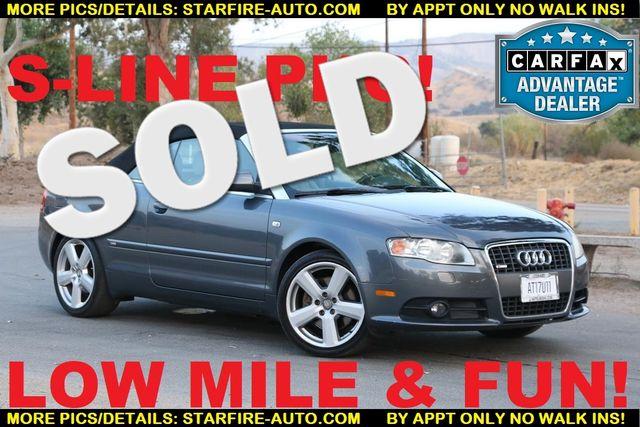 2007 Audi A4 2.0T S-LINE Santa Clarita, CA 0